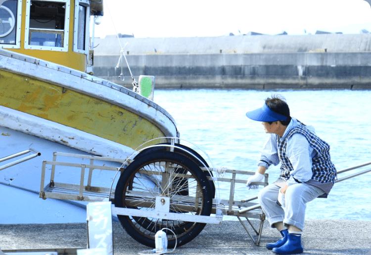漁獲量日本一の太刀魚を筆頭に、水揚げ魚種は年間で300以上! そんな浜直送の抜群の鮮度が最高の美味と笑顔の源に。