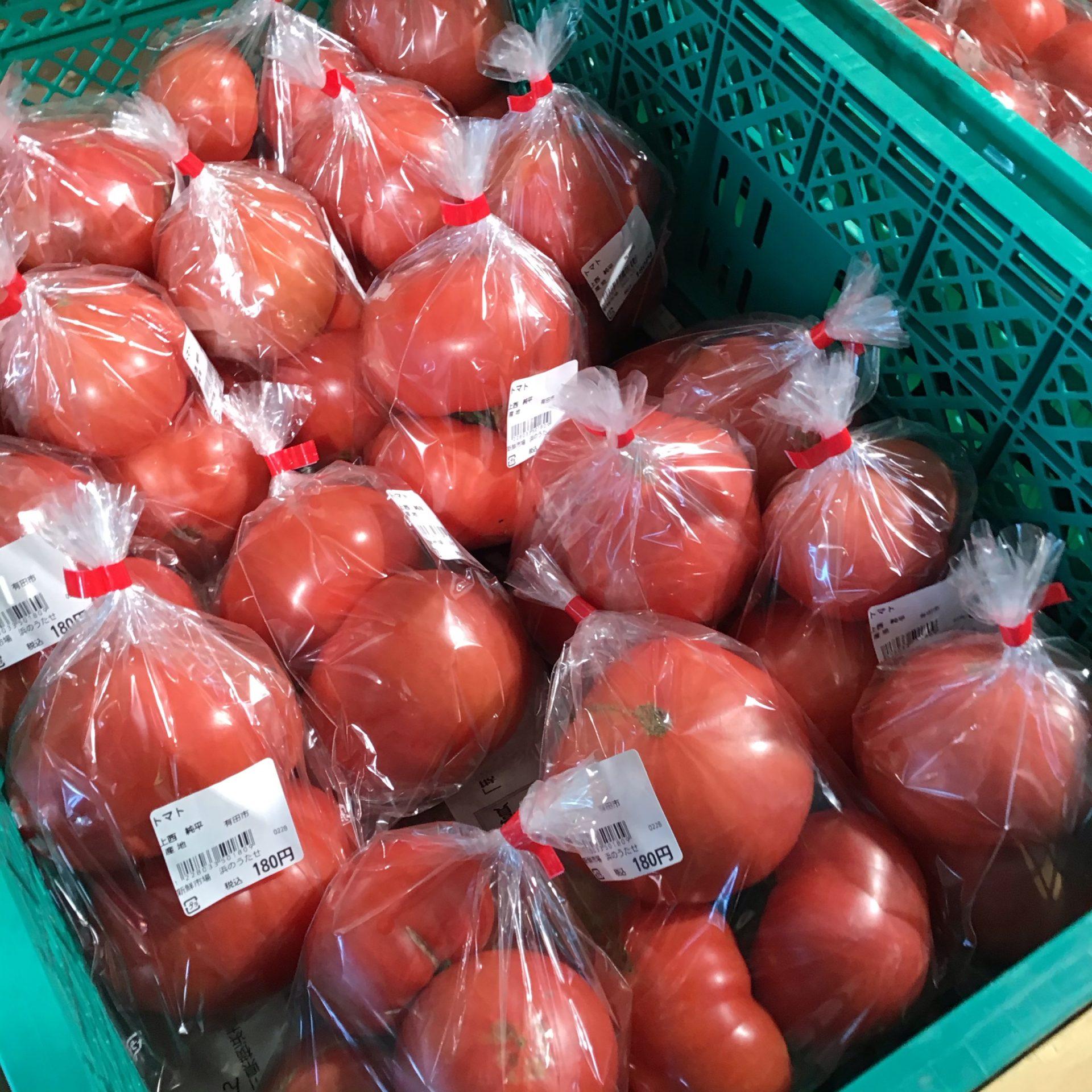 【トマト】の美味しい季節です